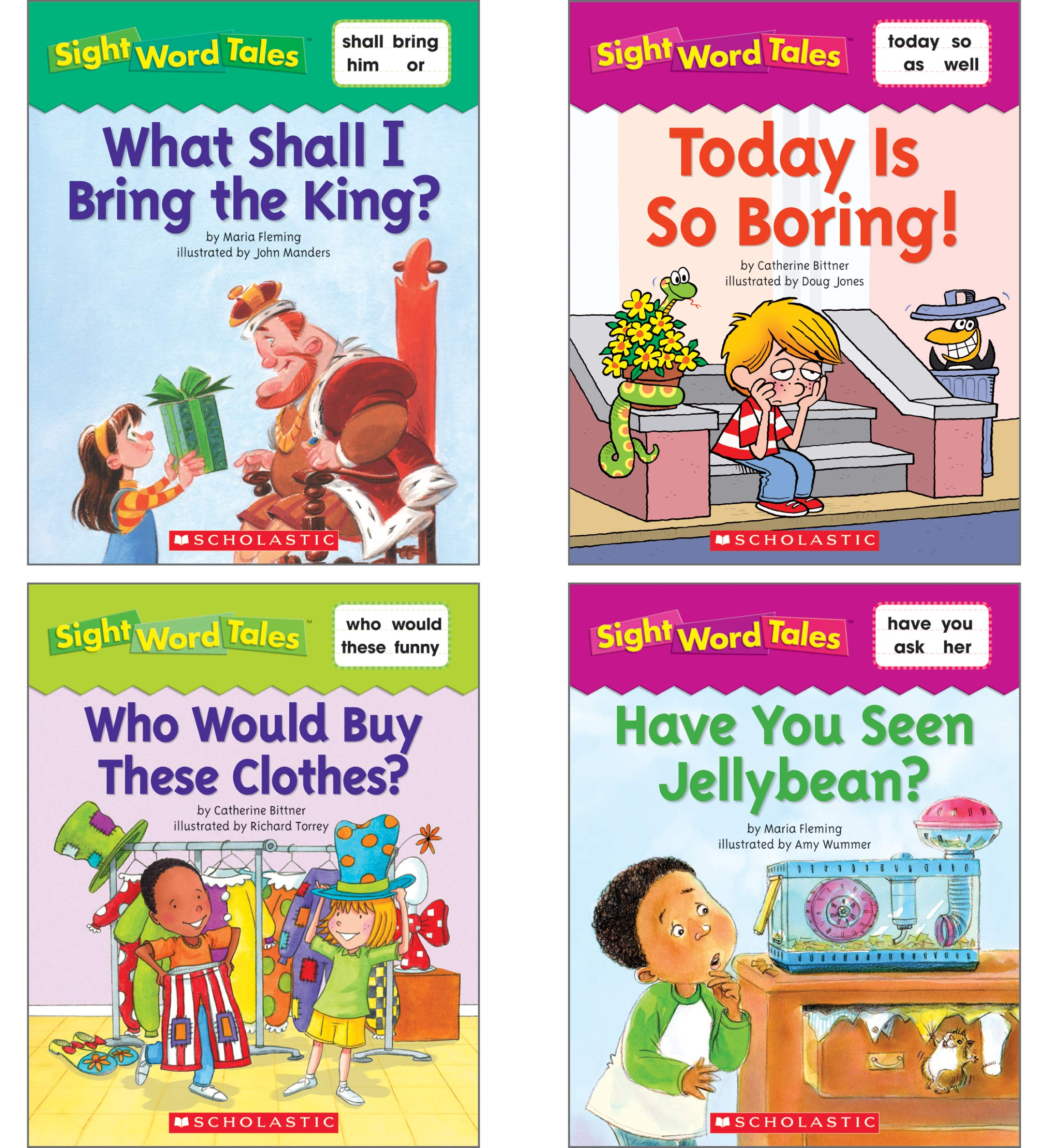 Sight Word Tales book for learning sight words