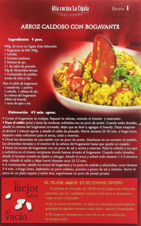 La Cigala Gran Selección Arroz Redondo Extra - 1 kg: Amazon.es: Amazon Pantry