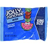 JOLLY RANCHER Bites, Watermelon/Green Apple, 3.4 Ounce (Pack of 12) (Halloween Candy)
