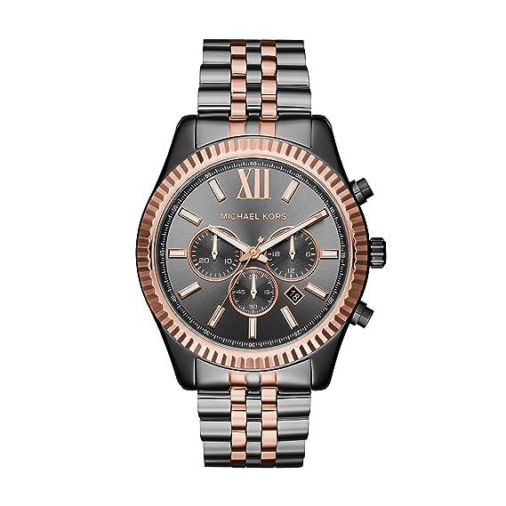 7c4a51d0638fb Reloj MICHAEL KORS - Hombre MK8561  Amazon.es  Relojes