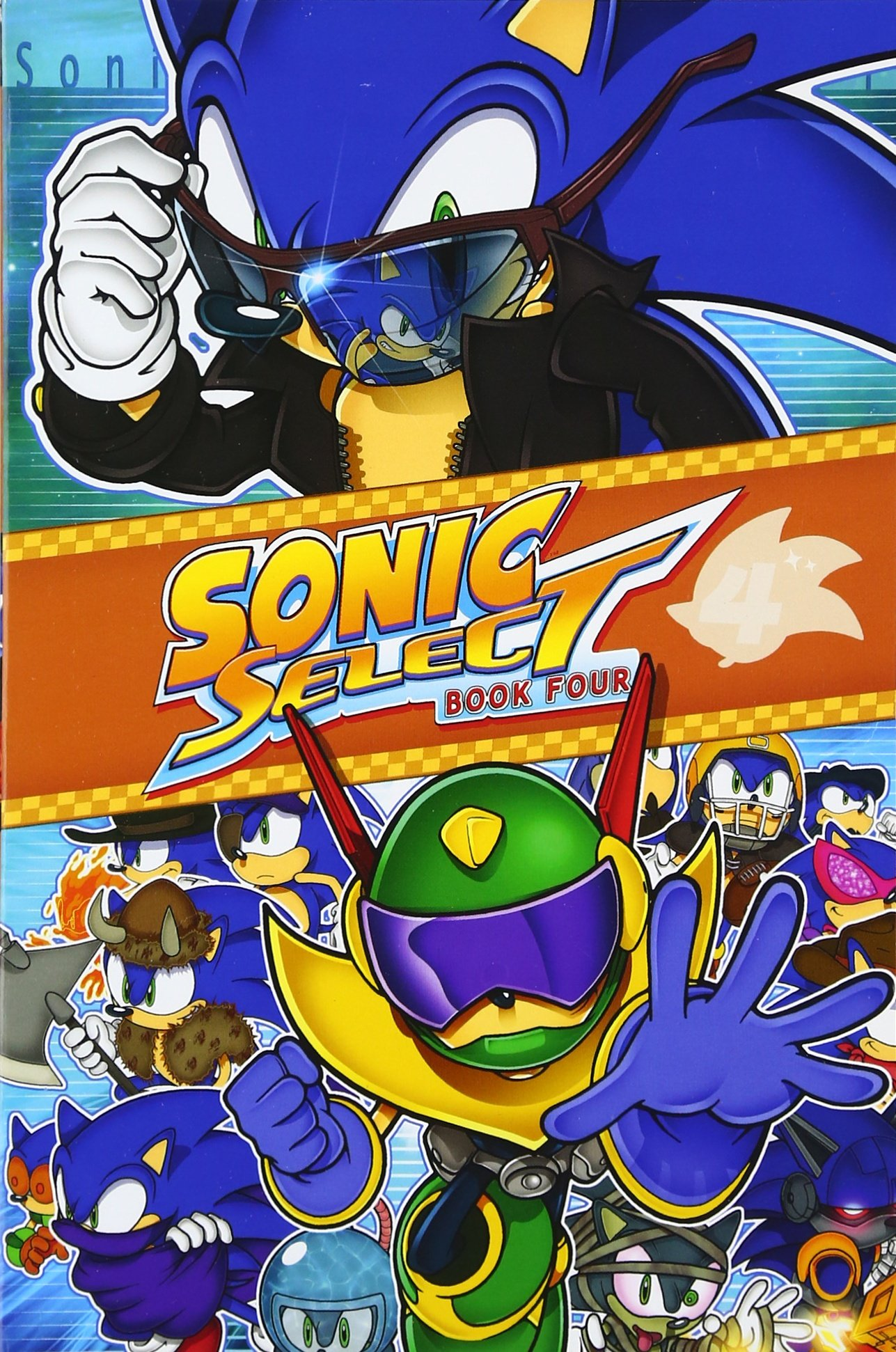 Sonic Select Book 4: Zone Wars (Sonic Select Series) ebook