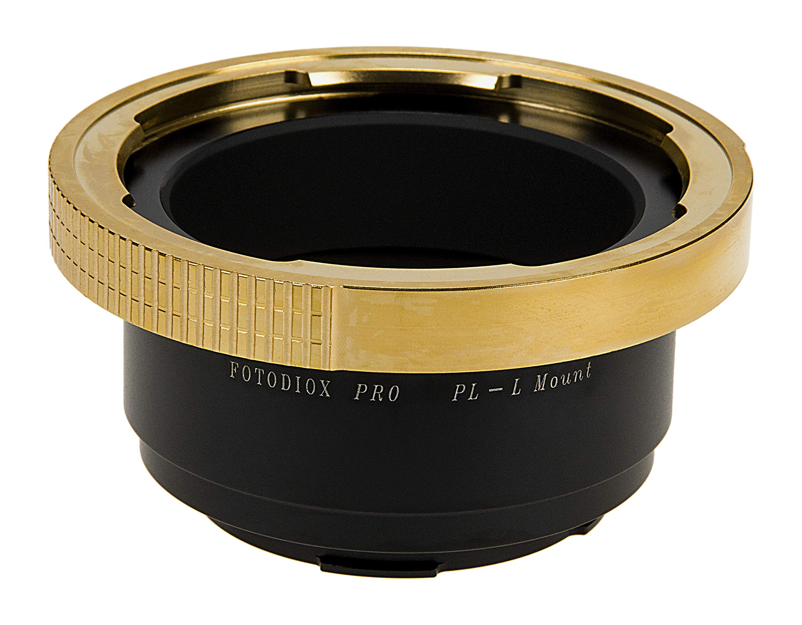 Fotodiox Pro Lens Mount Adapter Compatible with Arri PL (Positive Lock) Mount Lenses to Leica L-Mount (T-Mount) Mirrorless Camera Body by Fotodiox