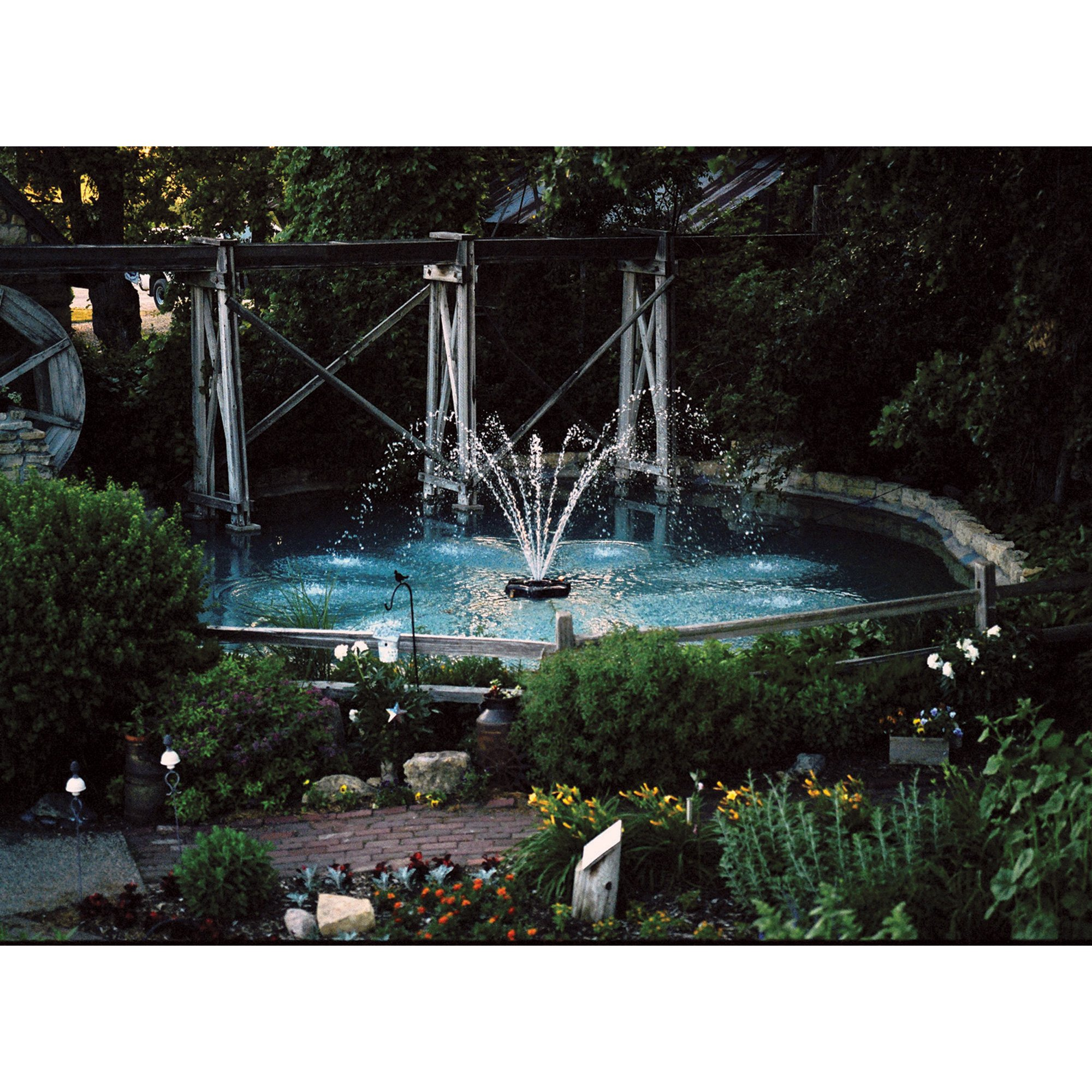 Kasco Aerating Fountain - 3/4 HP, 240V, 150-Ft. Cord, Model# 3400HJF150