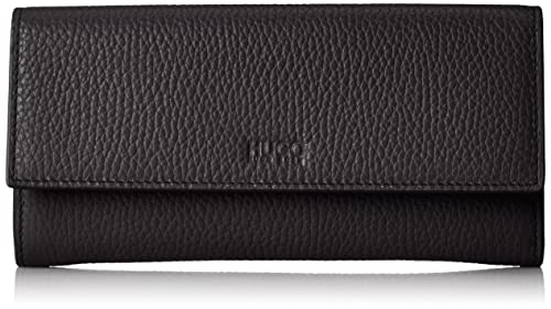 c6feeba22e8 HUGO Mayfair Continental, Women's Wallet, Black, 1.5x10x19 cm (B x H T