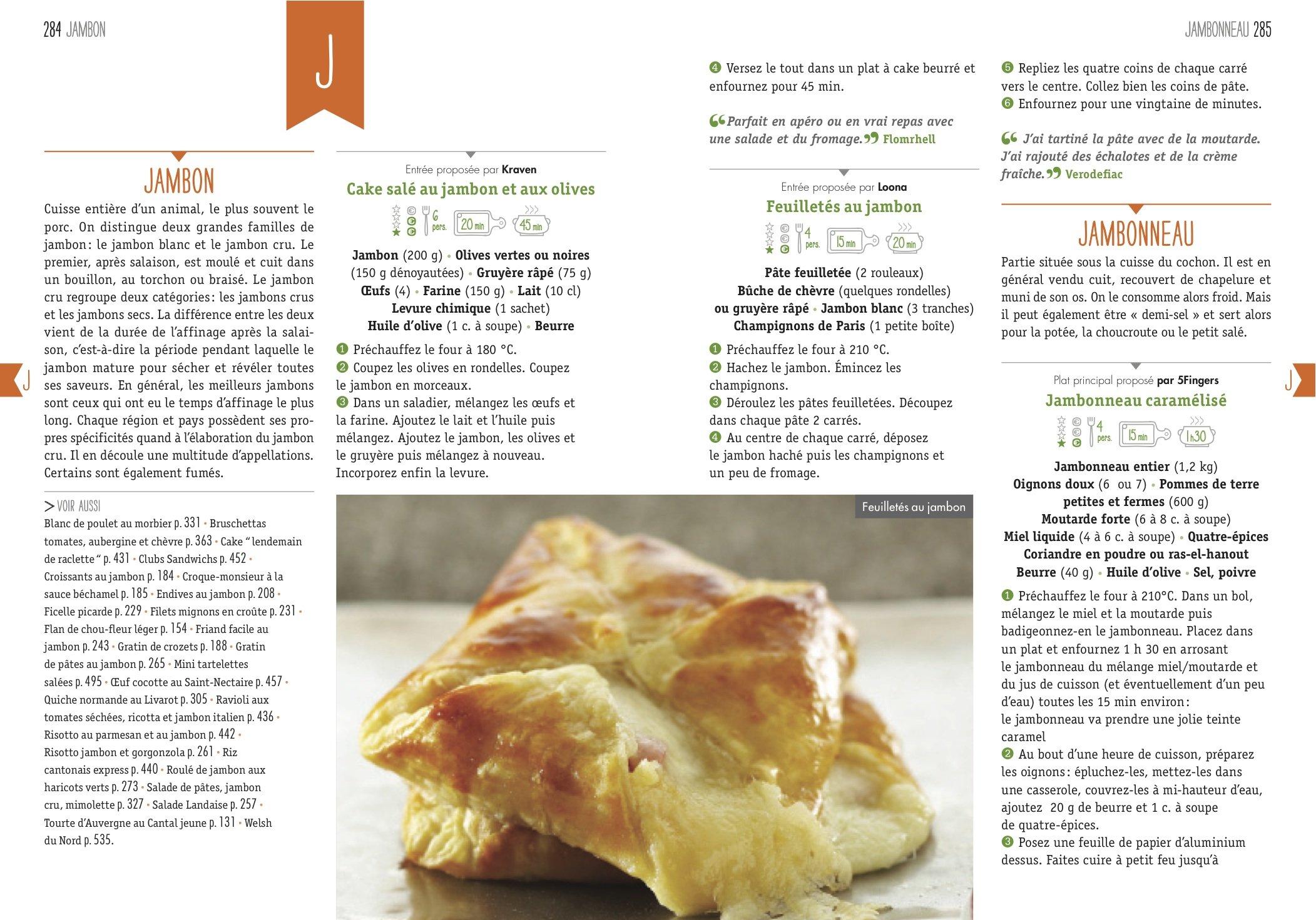 Amazon Fr Toute La Cuisine De A A Z Les 1 000 Recettes Marmiton