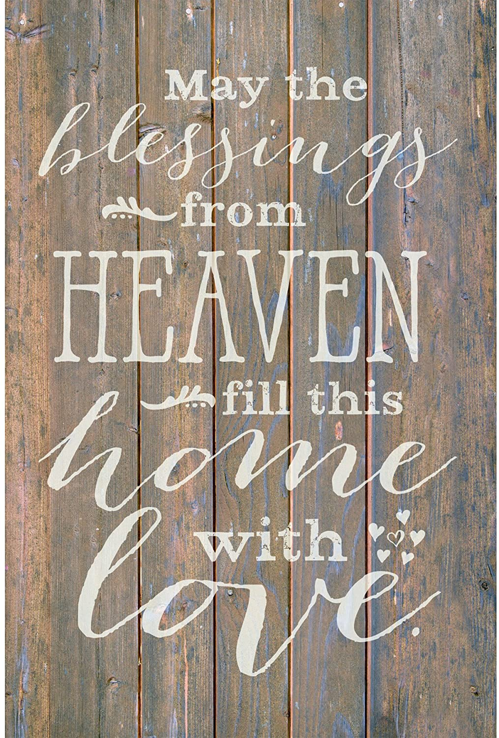 Dexsa May The Blessings from…New Horizons Wood Plaque with Easel