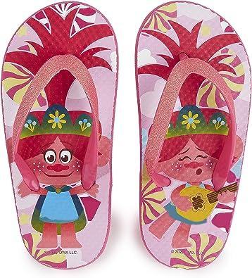 Trolls Chanclas Niña, Sandalias Niña con Personaje Poppy Troll, Chanclas Piscina Niña Rosas, Zapatillas Niña Verano para Playa, Regalos Originales para Niñas Talla 26-33 (Numeric_30_Point_5): Amazon.es: Zapatos y complementos