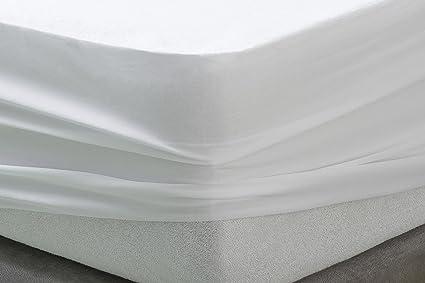 Al/èse Prot/ège-Matelas Imperm/éable et Respirant Disponible en Plusieurs Dimensions Savel 160x190//200cm Flanelle//Molleton 100/% Coton