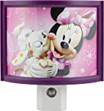 Disney Minnie's Bowtique Wraparound Shade LED Night Light, Automatic, 13367