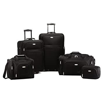 Image Unavailable. Image not available for. Color  Samsonite Nobscot 5  Piece Luggage ... 107b2fa247340