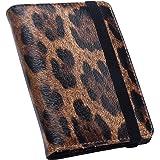 9e81a318f112 Amazon.com   ALAZA Leopard Print Leather Passport Holder Cover Case ...