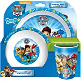 Spearmark Paw Patrol Tumbler/Bowl and Plate Set