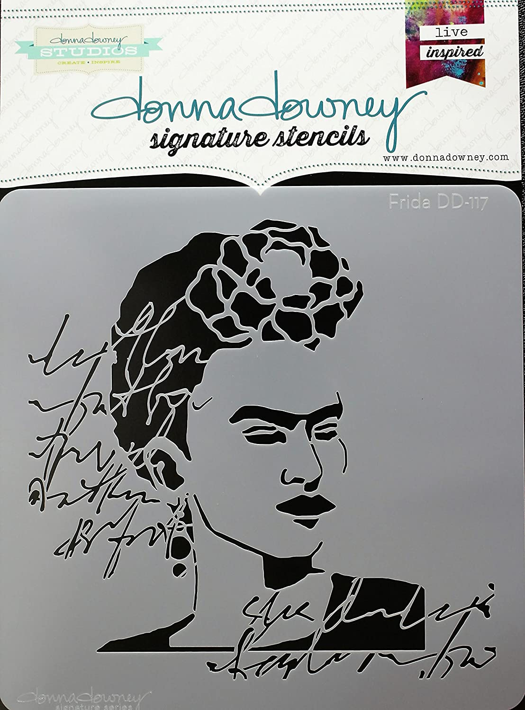 Donna Downey Stencils DD-117 Signature 8.5