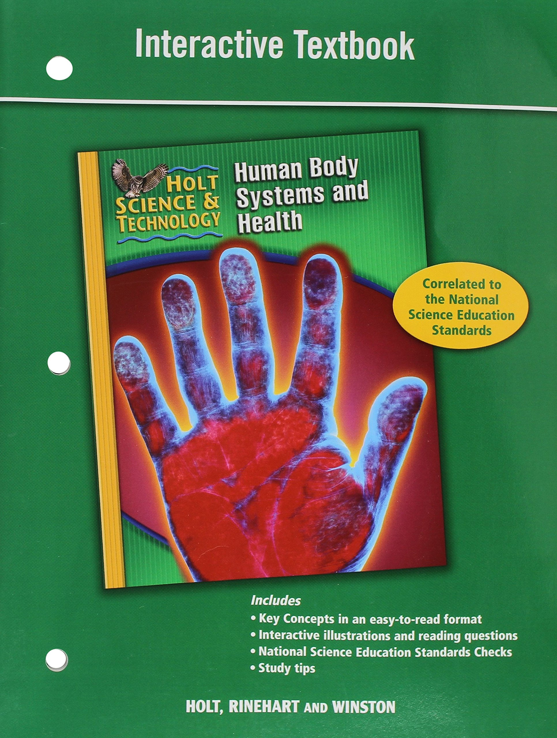 Amazon Holt Science Technology Interactive Textbook D Human