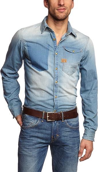 G-STAR RAW ARC 3D Slim Camisa, Lt Aged 424, 54 para Hombre: Amazon.es: Ropa y accesorios