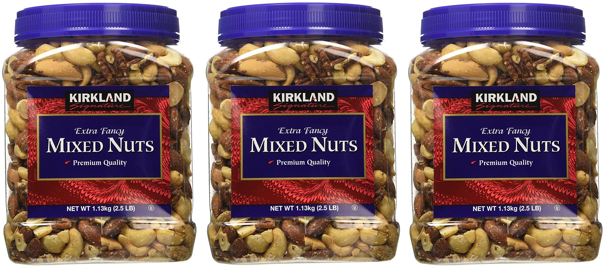 Kirkland Signature ffWYvN Fancy Mixed Nuts, 40 Ounce (3pack)