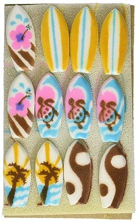 Tablas de surf decoraciones azúcar Galletas Cupcake Pastel ...