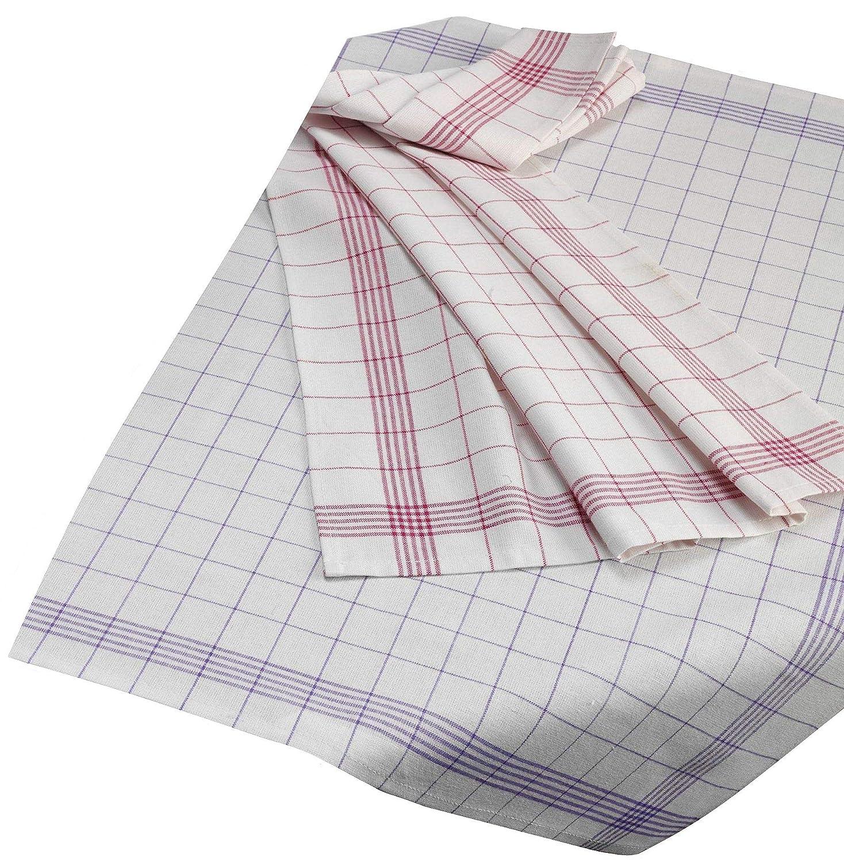 100 /% Baumwolle bunt gemischt Geschirrtücher  10er Pack  50 x 70 cm