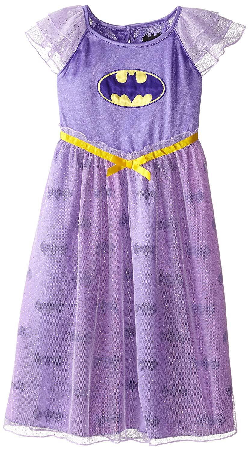 Justice League Girls Batdressy Gown Purple Medium K157951SG