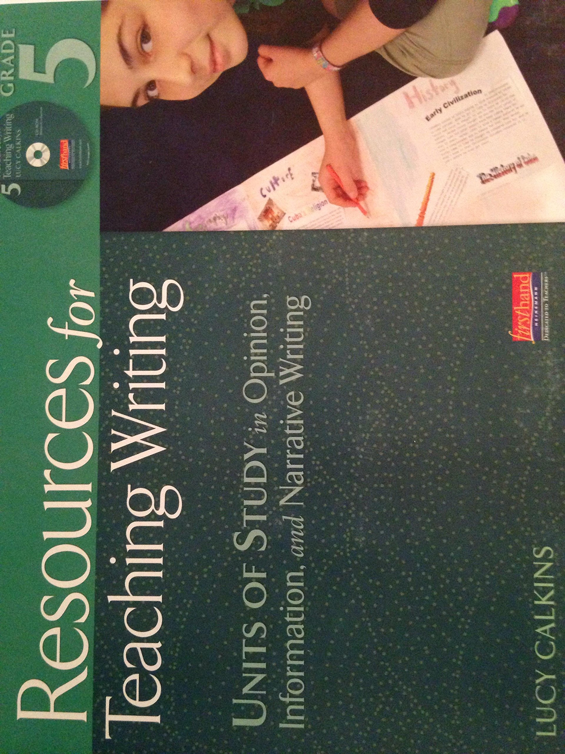 Resources for Teaching Writing pdf
