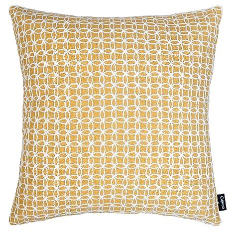 Cushoo - Funda de cojín con bordado geométrico en color ...