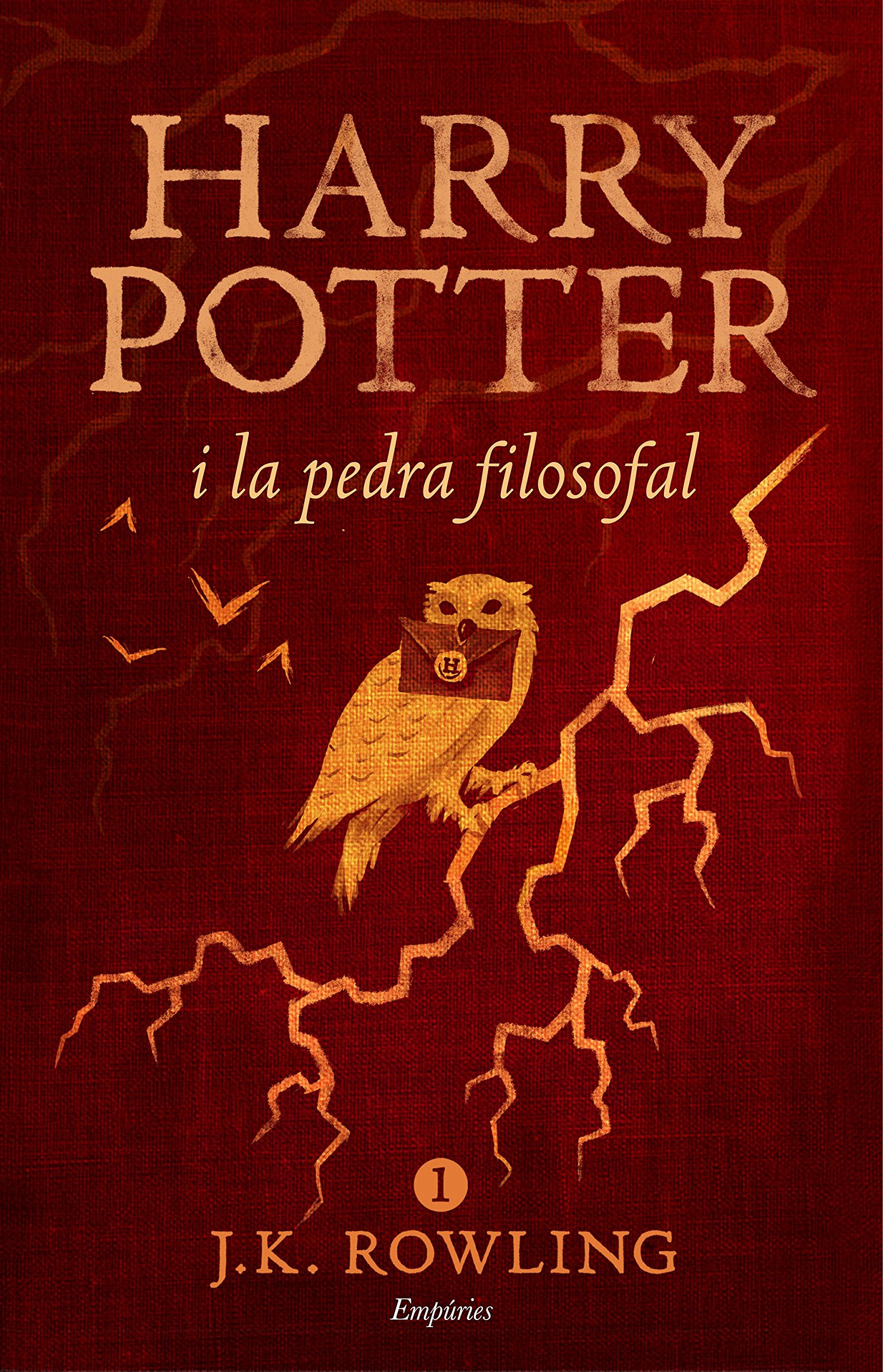 Harry Potter i la pedra filosofal rústica SERIE HARRY POTTER ...