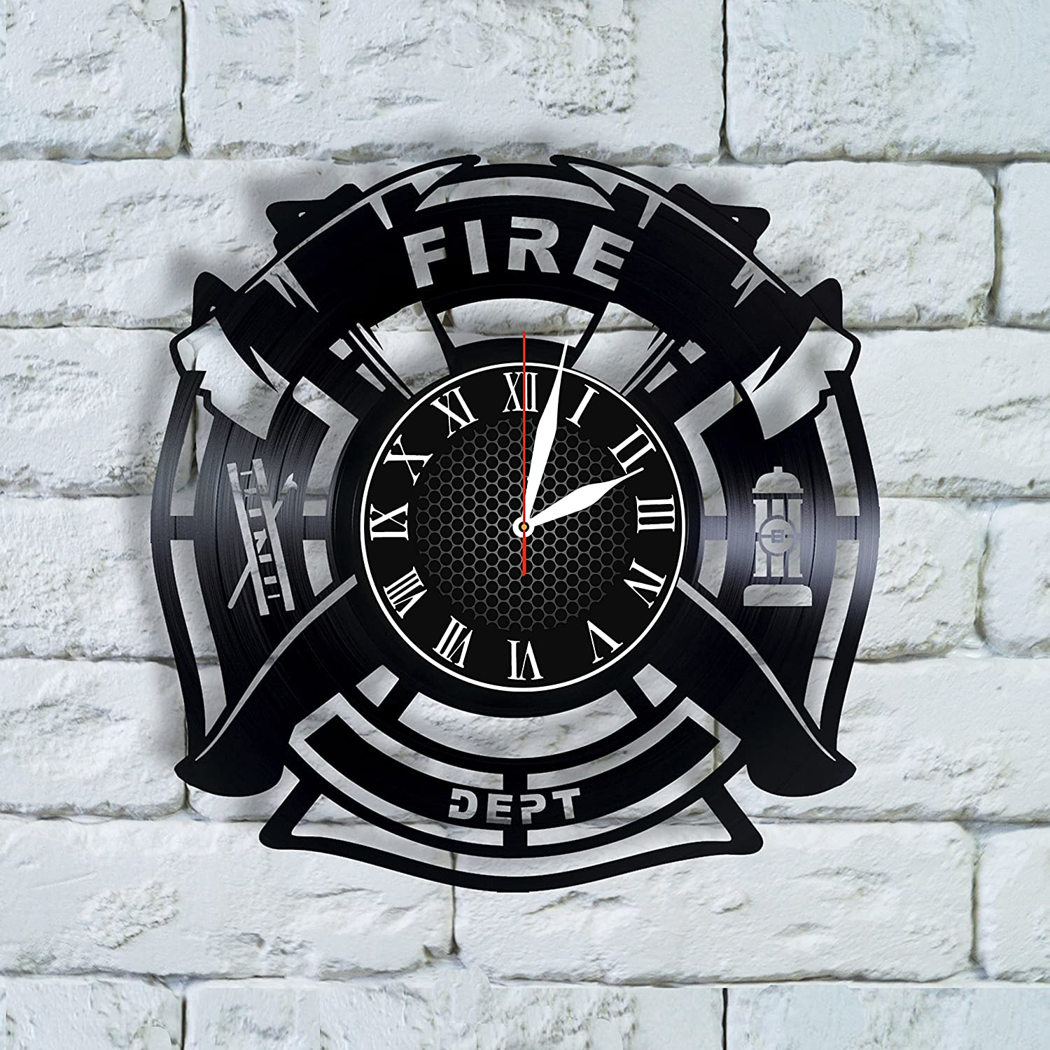 Amazon.com: Olha Art Design Firefighter Christmas gifts for men ...