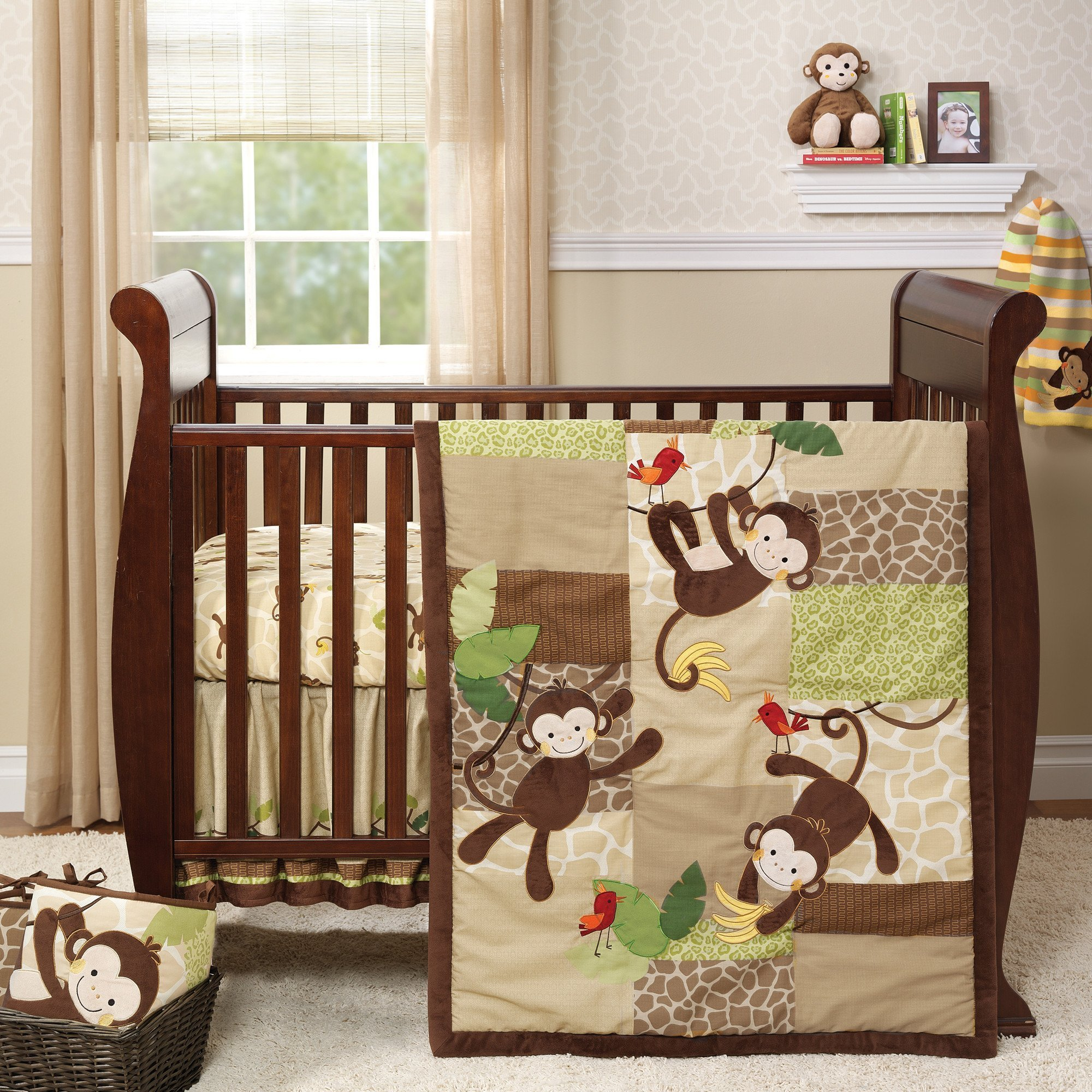 Bedtime Originals Tickles 5-Piece Crib Bedding Set