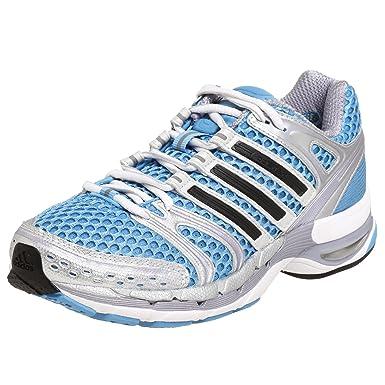 adidas donne adistar controllo 5 scarpe da corsa, blu