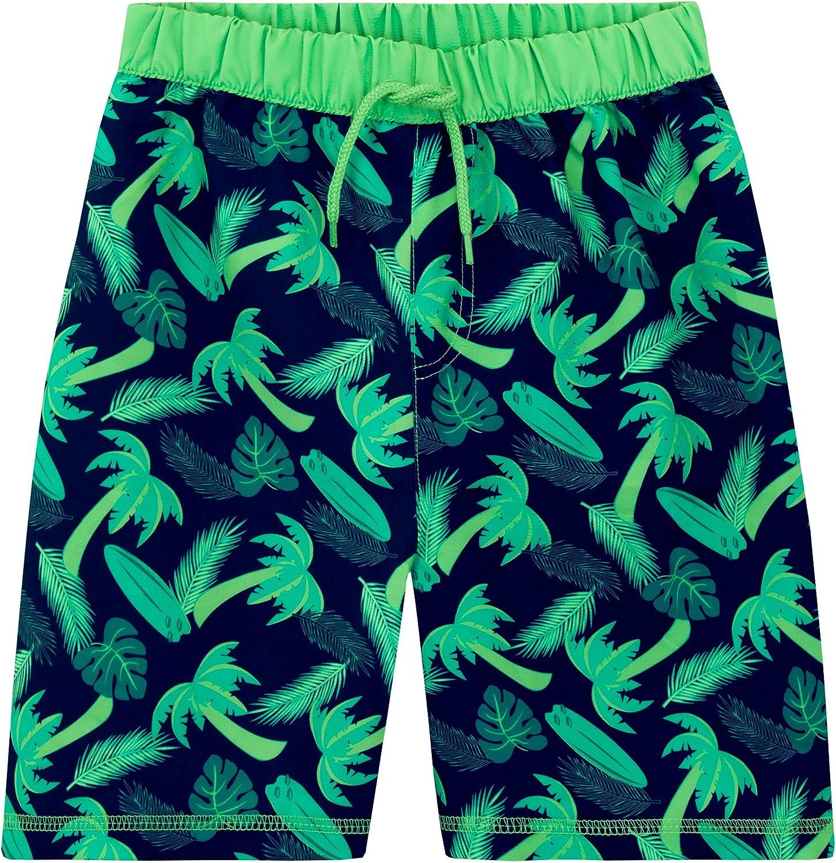 Harry Bear Boys Palm Tree Swim Shorts