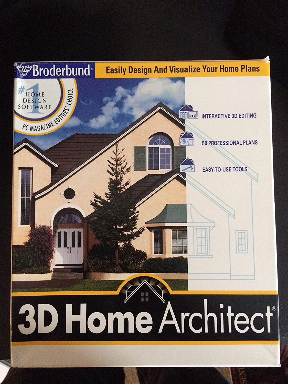amazon com 3d home architect deluxe