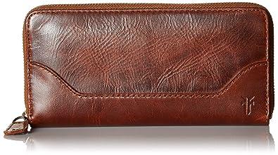 FRYE Womens Melissa Zip Wallet One Size db135 Beige