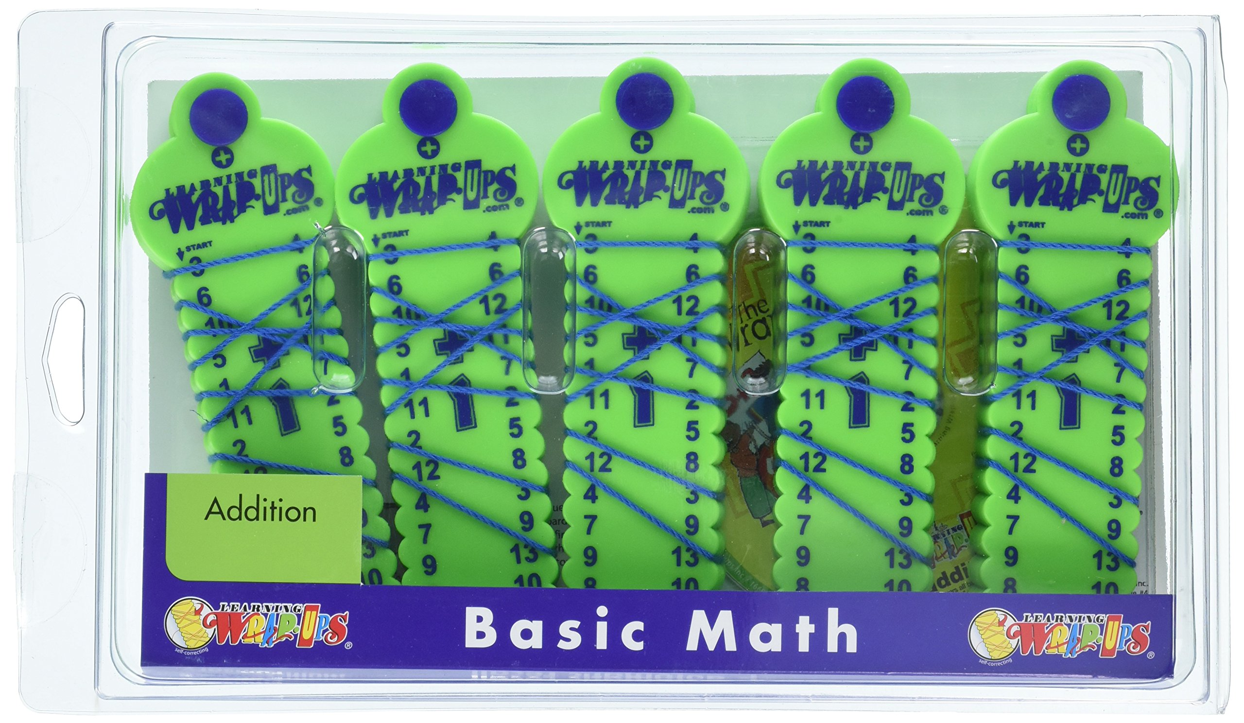 Learning Wrap-ups Self Correcting Addition Kit with CD