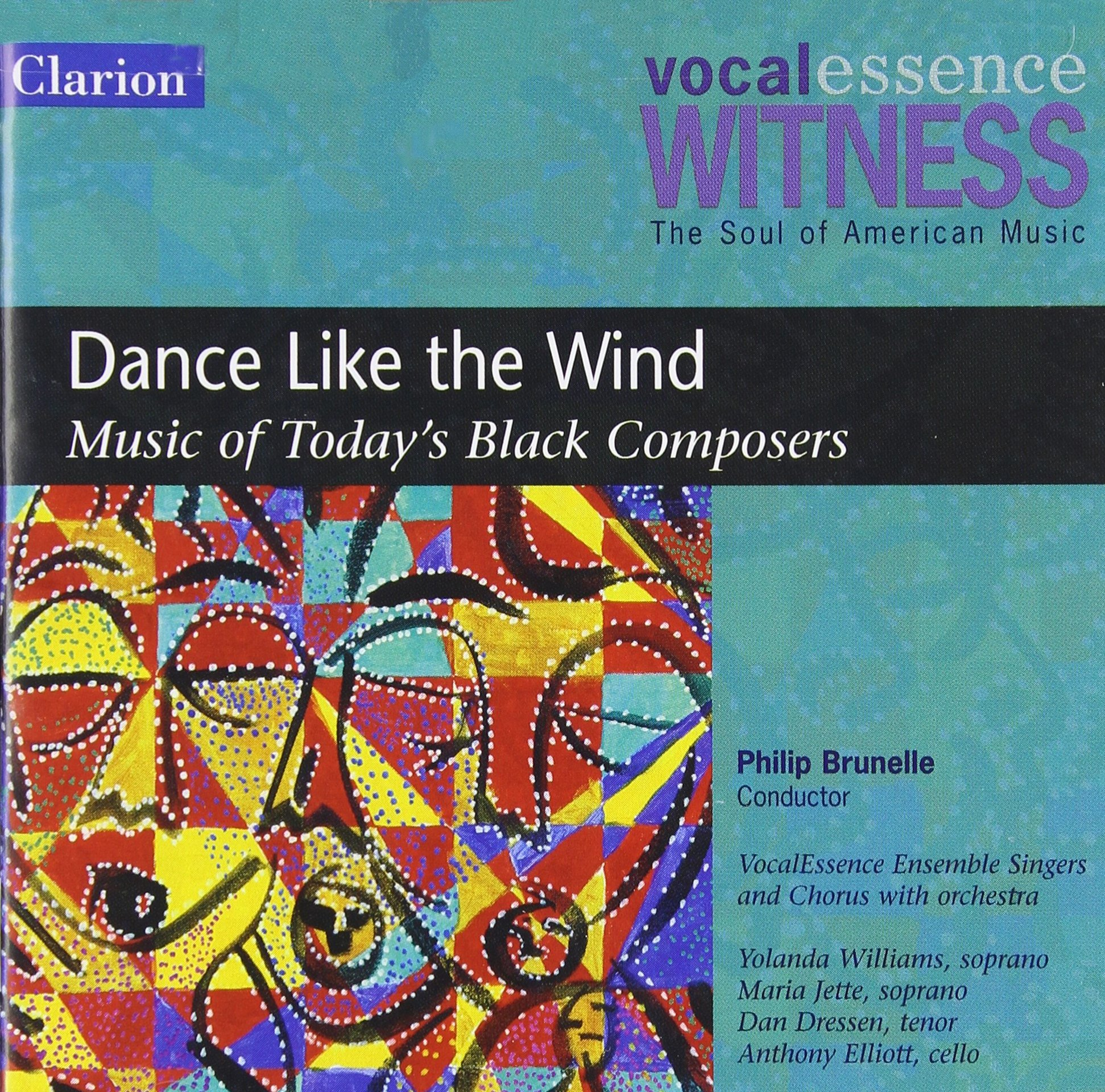 Witness: Dance Like the Wind - Music of Today's Black Composers by Clarion