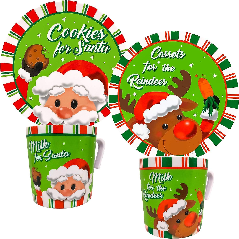 Carrots for the Reindeer Platter Santa Treat Platter Cookies for Santa Platter