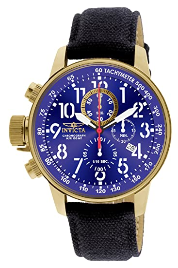 Invicta 1516 I-Force Reloj para Hombre acero inoxidable Cuarzo Esfera azul: Invicta: Amazon.es: Relojes