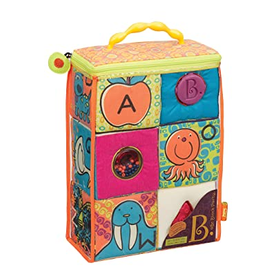 Battat ABC Block Party Baby Toy: Toys & Games