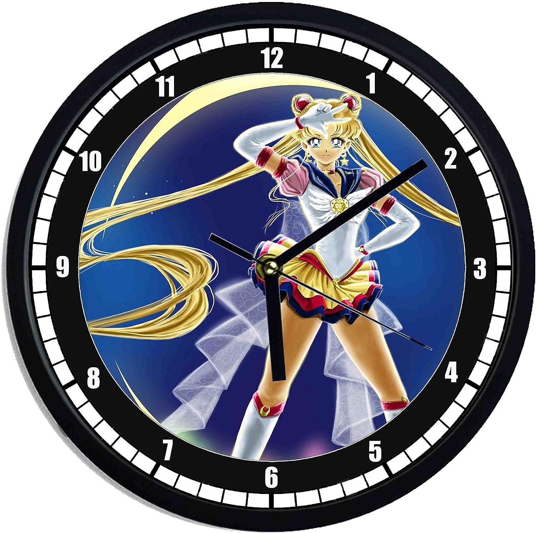 Orologio da parete in plastica Sailor Moon