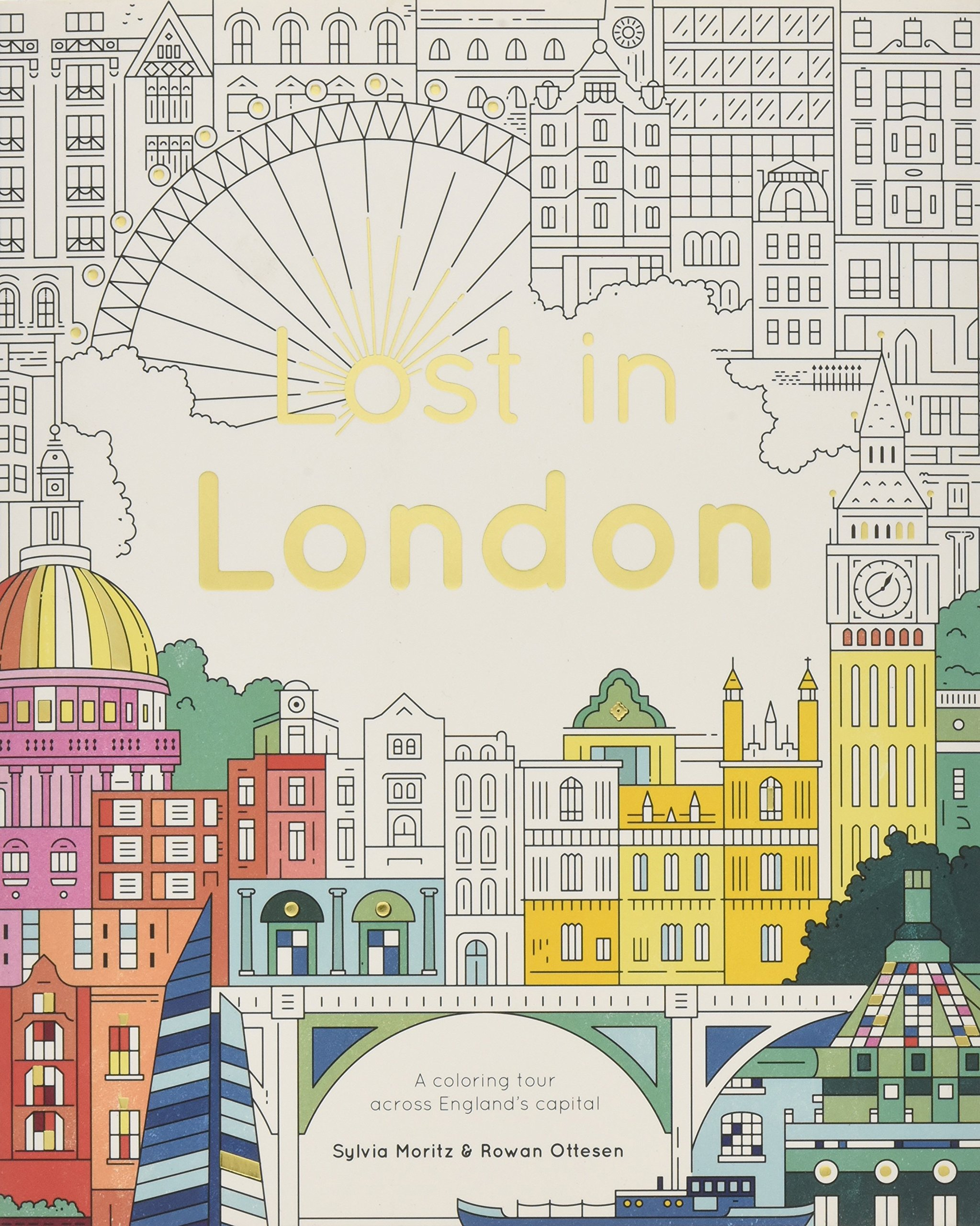 Download Lost in London: Color Your Way Around the City PDF