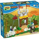 UNICO plus 维尼高布鲁斯 拼插玩具 城堡系列 中世纪骑士对决 18个月-5岁 大颗粒兼容 8573-0000