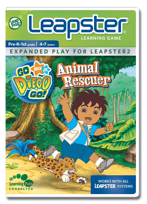 LeapFrog Leapster Spiel: Go Diego Go. Animal Rescuer