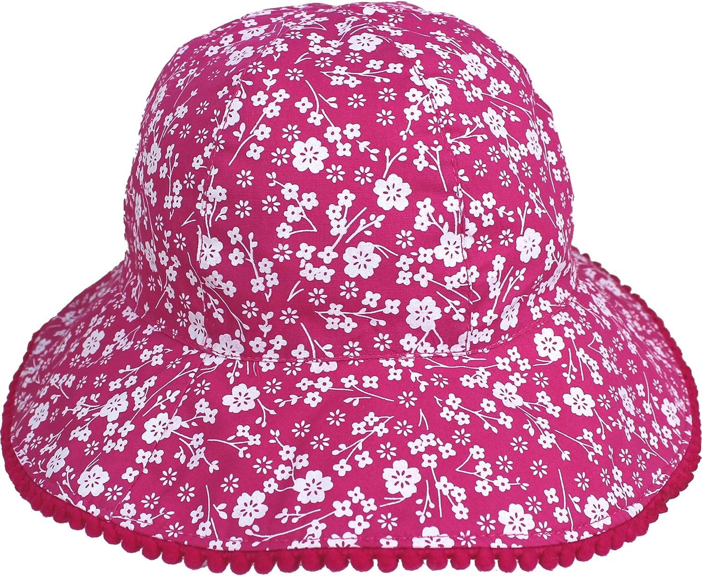 Girls /& Toddlers Summer Flowers Sun Hat