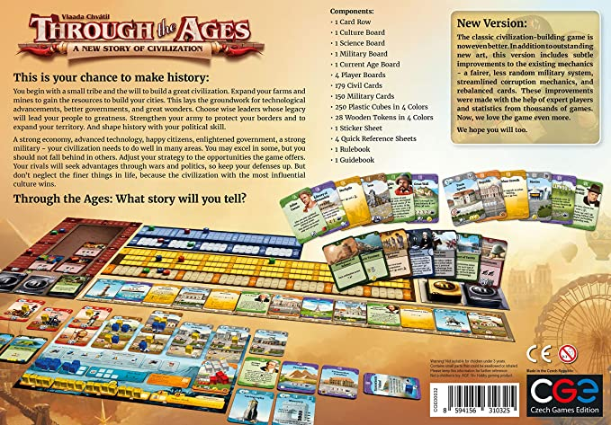 Czech Games Edition Through The Ages [2015] – Una Nueva Historia ...