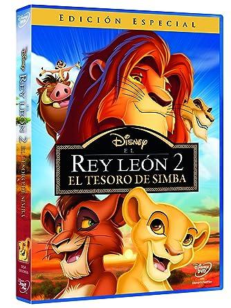 El Rey León 2 El Tesoro De Simba Dvd Amazones Dibujos Animados