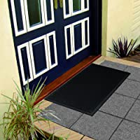 Deals on Ottomanson RDM Rubber Doormat, 24-in X 36-in