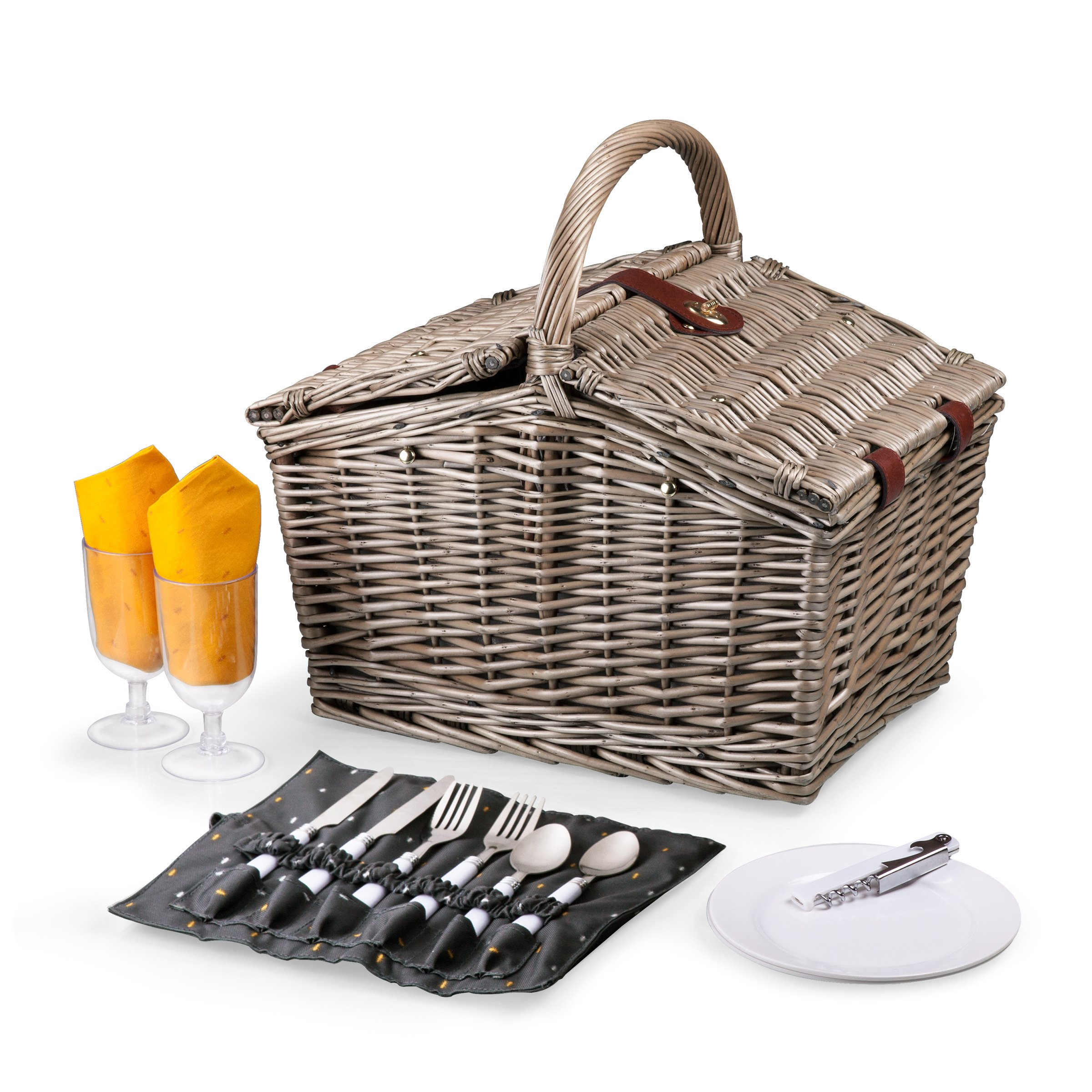 Picnic Time Piccadilly Picnic Basket For Two, Anthology Collection by PICNIC TIME