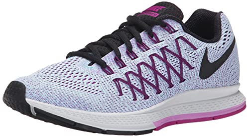 5e118b853b8 Nike Women s Air Zoom Pegasus 32 Black Fuchsia Running Shoes - 4 UK India (