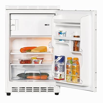 Amica UKS16157 Unterbaukühlschrank dekorfähig mit Gefrierfach / A ... | {Unterbaukühlschränke 26}