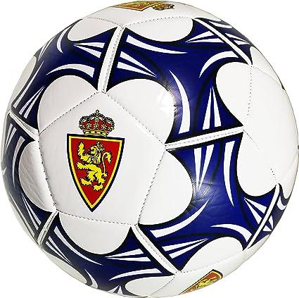 Real Zaragoza Balzar Balón, Azul/Blanco, Talla Única: Amazon.es ...