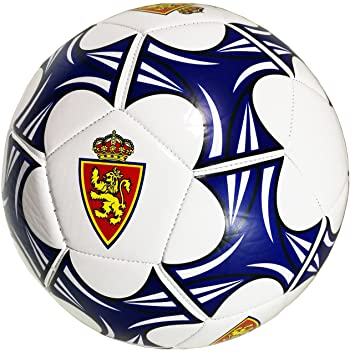 Real Zaragoza Balzar Balón, Azul/Blanco, Talla Única: Amazon.es: Deportes y aire libre